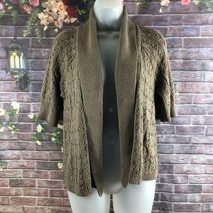 Ann Teylor Loft Women's Cardigan Open Sweaters S